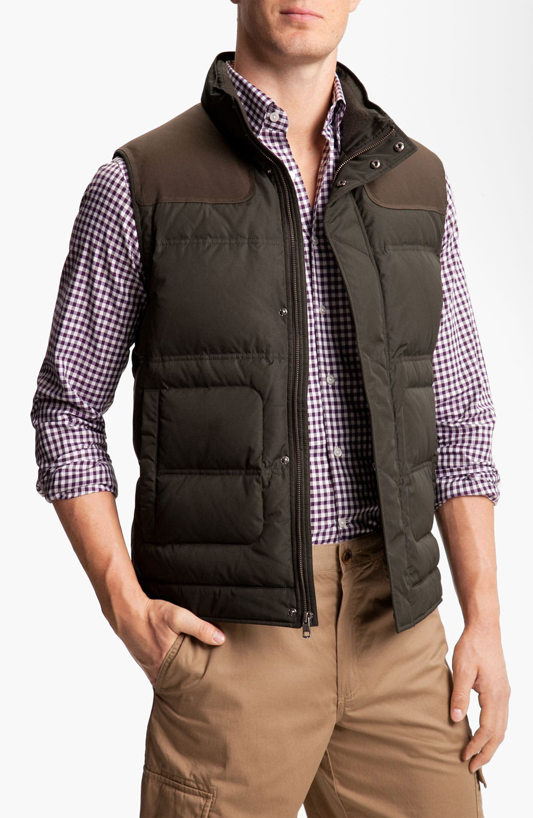 Main Image - Cole Haan Quilted Down Vest (Online Exclusive)