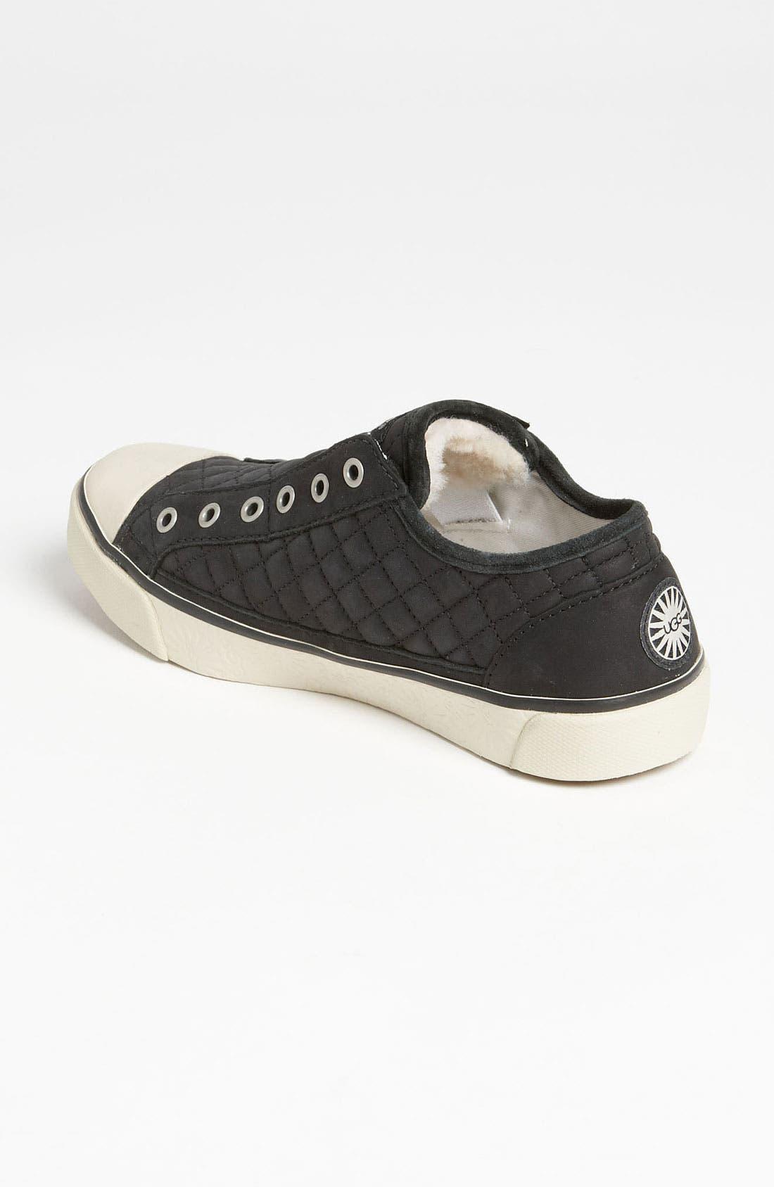 Alternate Image 2  - UGG® Australia 'Laela Quilted' Sneaker (Women)