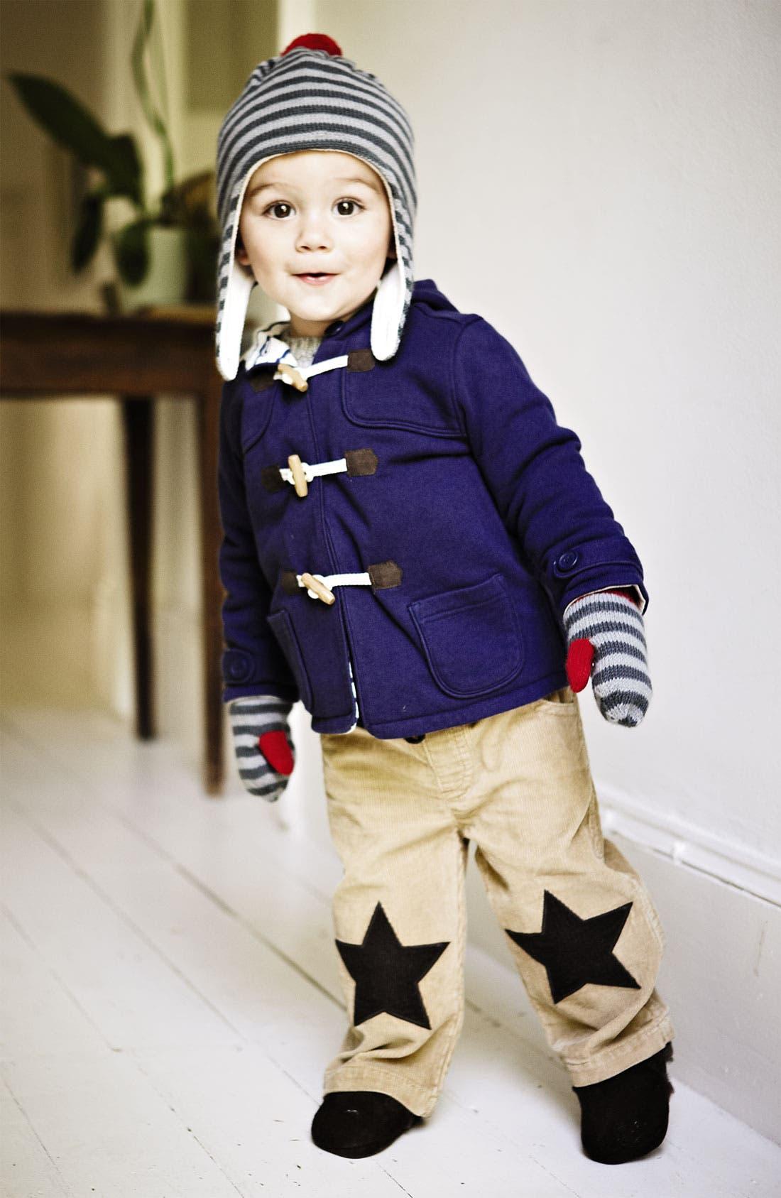 Alternate Image 2  - Mini Boden Duffle Coat (Infant)