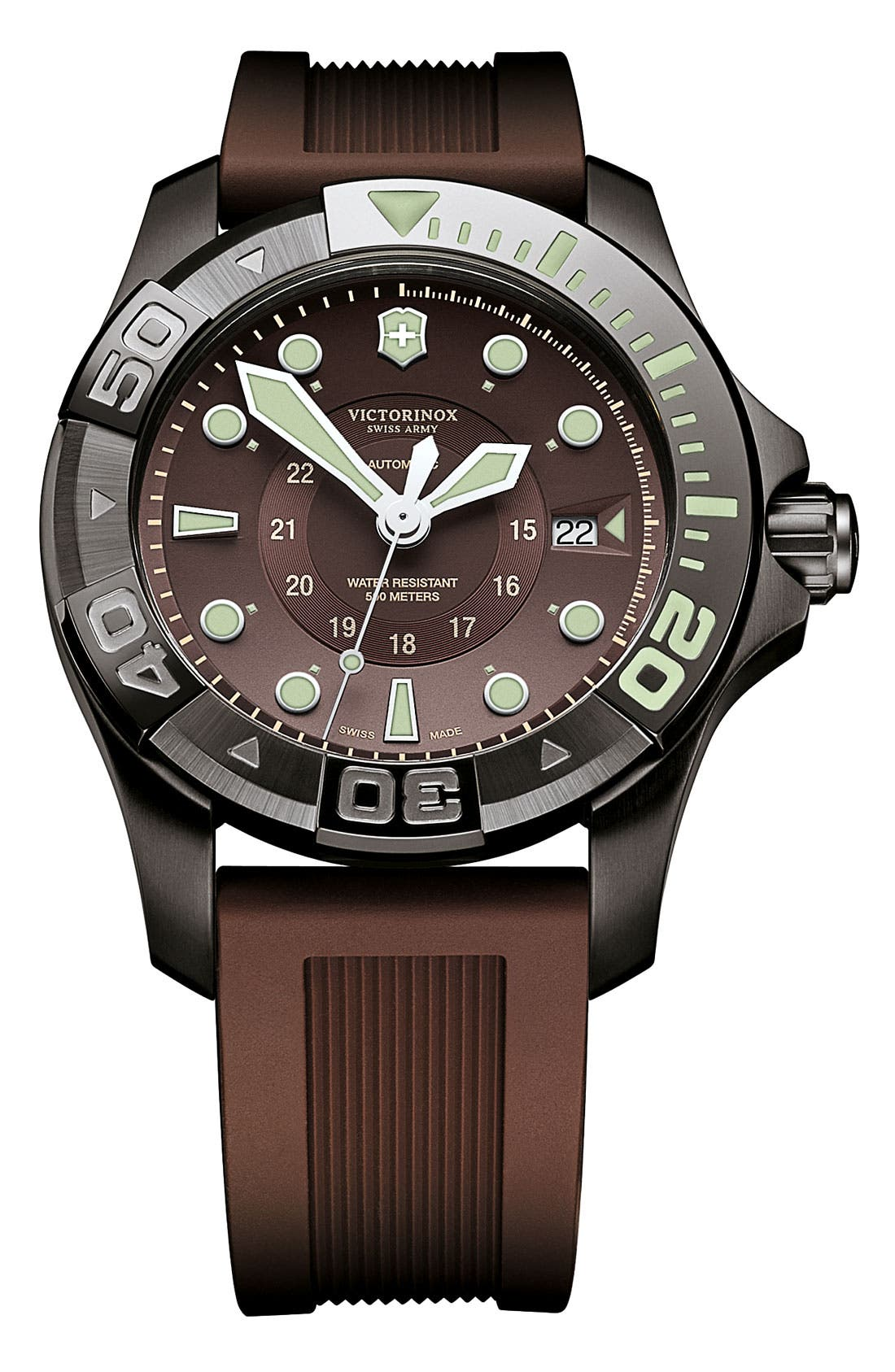 Alternate Image 1 Selected - Victorinox Swiss Army® 'Dive Master 550' Automatic Watch, 43mm
