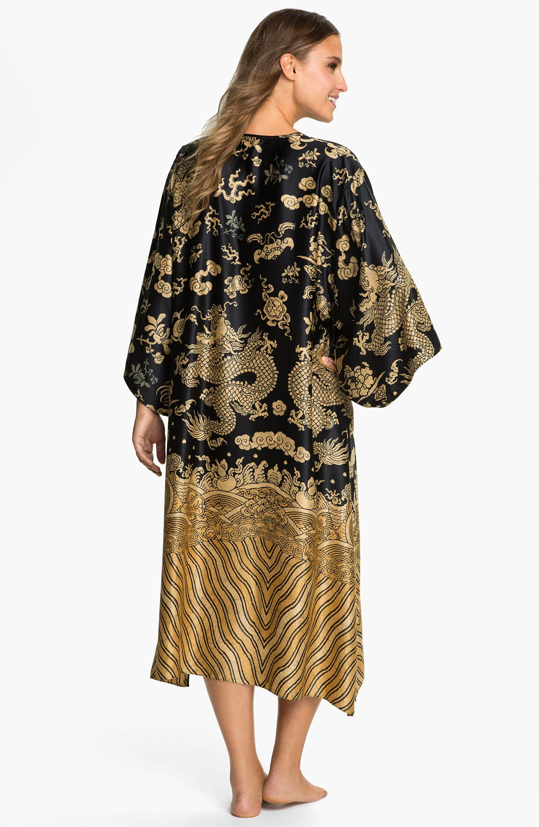 Alternate Image 2  - Natori 'Dragon' Caftan