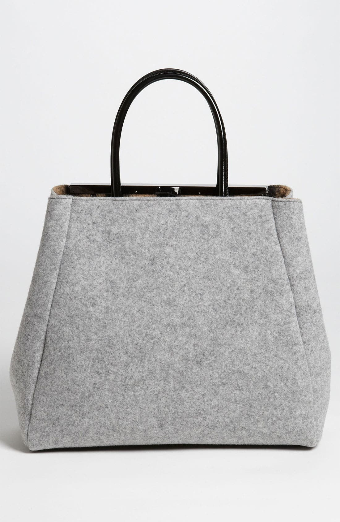 Alternate Image 4  - Fendi '2Jours - Large' Felted Wool Shopper