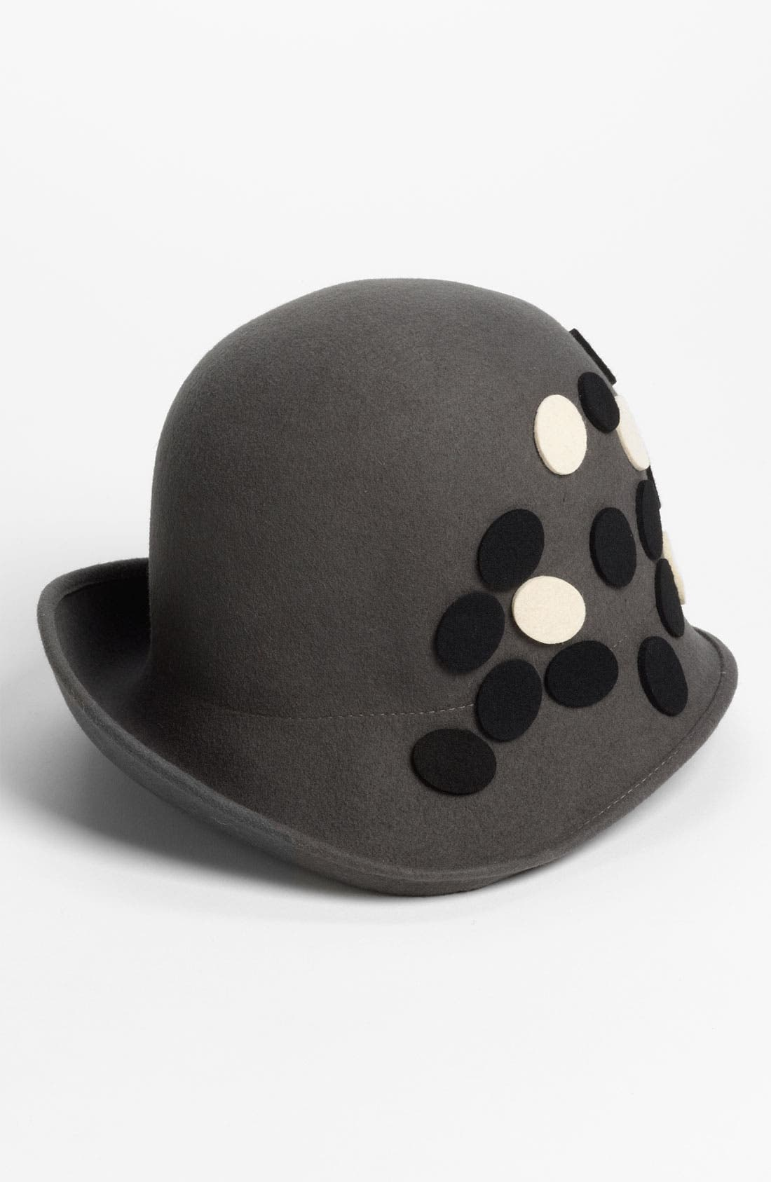 Alternate Image 1 Selected - Tarnish Asymmetrical Upbrim Cloche