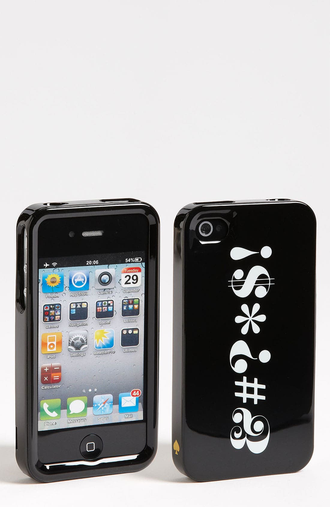 Alternate Image 1 Selected - kate spade new york 'pardon my french' iPhone 4 & 4S case