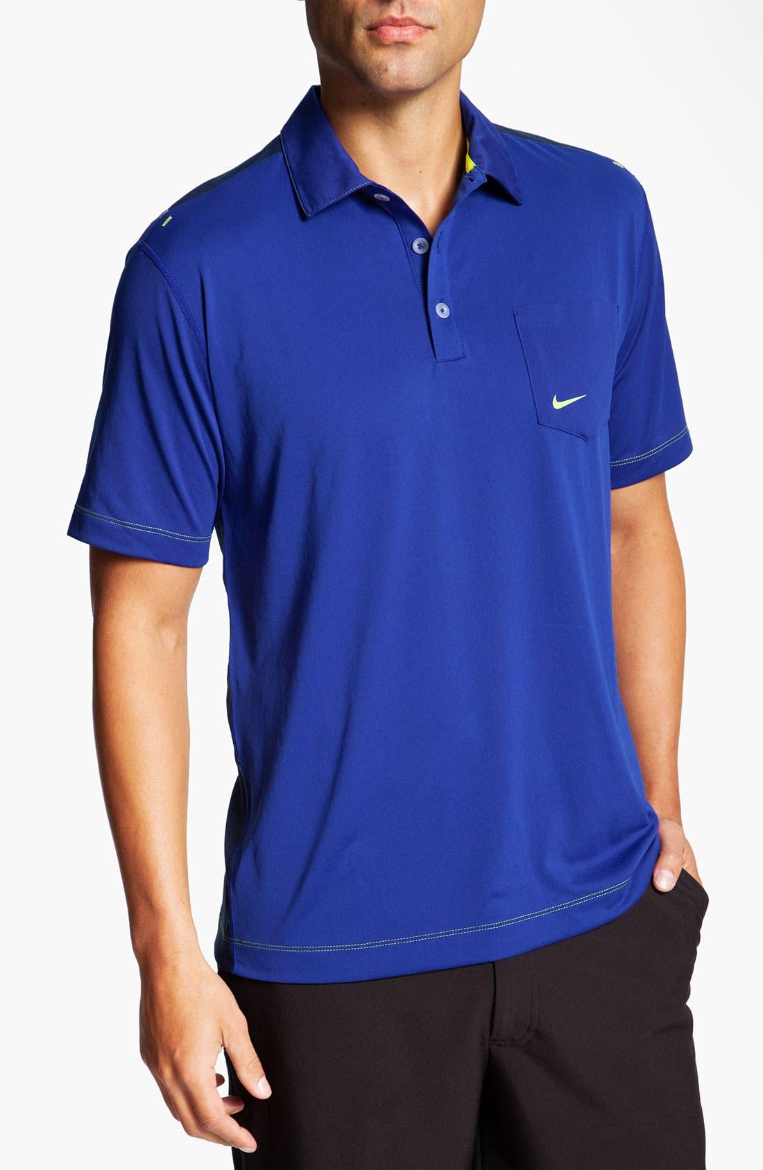 Main Image - Nike Golf 'Body Mapping' Dri-FIT Polo