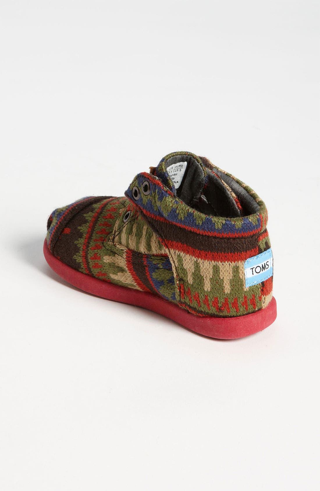 Alternate Image 2  - TOMS 'Botas Tiny - Kilim' Boot (Baby, Walker & Toddler)