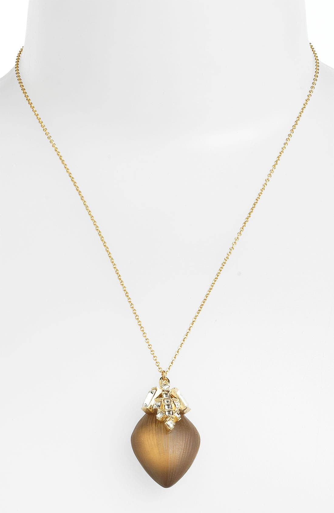 Main Image - Alexis Bittar 'Teatro Moderne' Studded Kite Pendant Necklace (Nordstrom Exclusive)