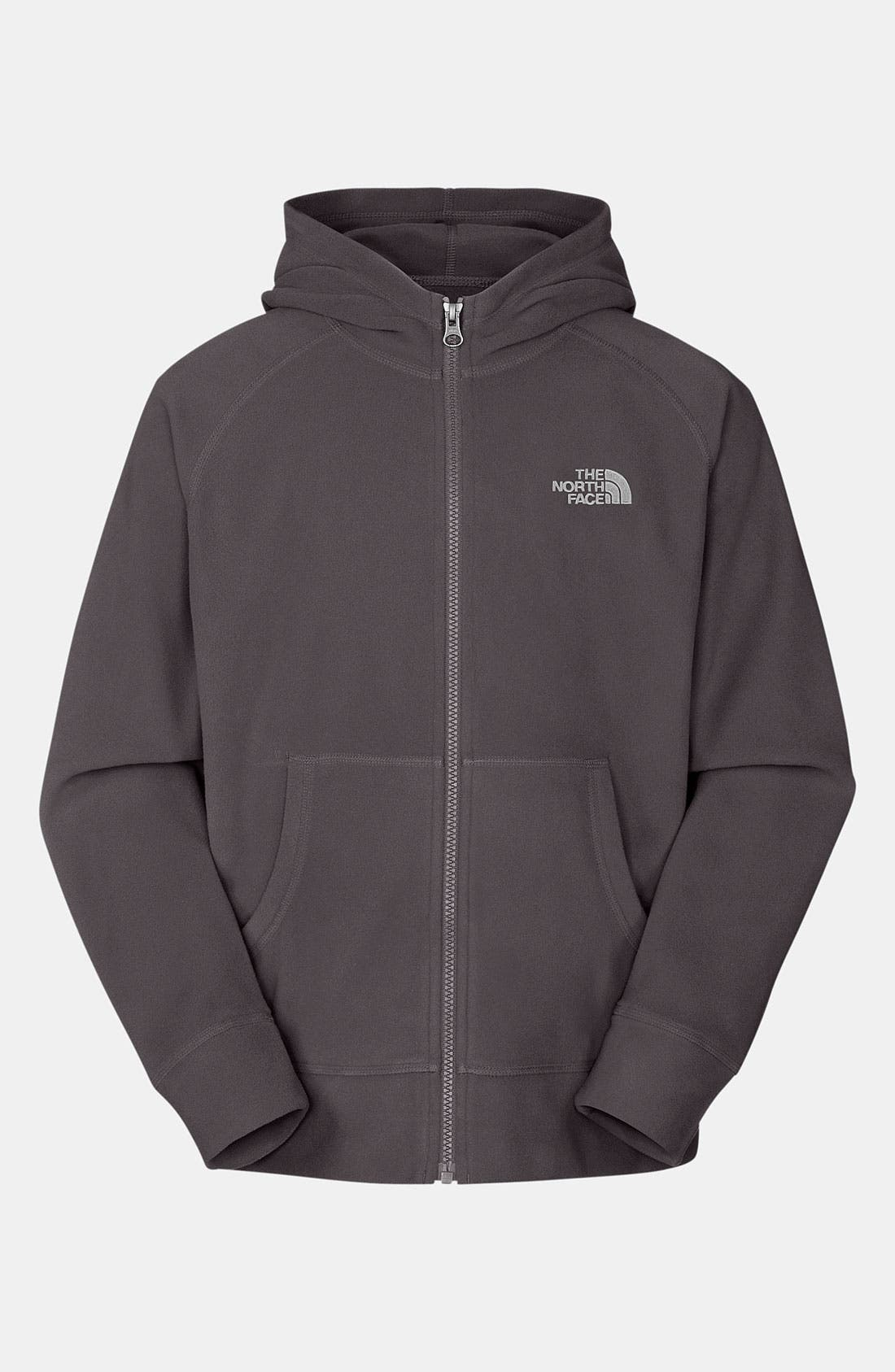 Alternate Image 1 Selected - The North Face 'Glacier' Fleece Hoodie (Little Boys)