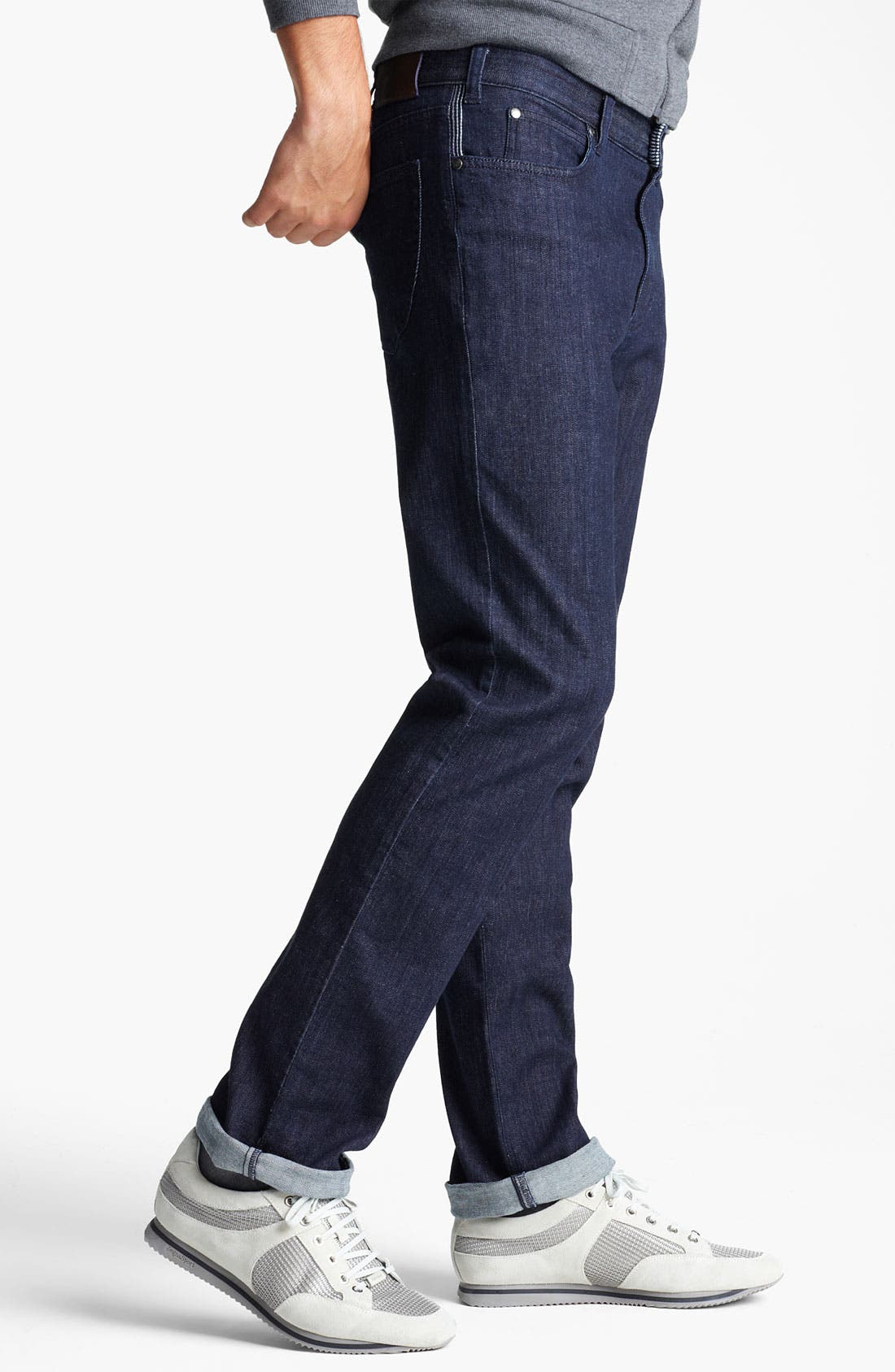 Alternate Image 3  - Zegna Sport Straight Leg Jeans