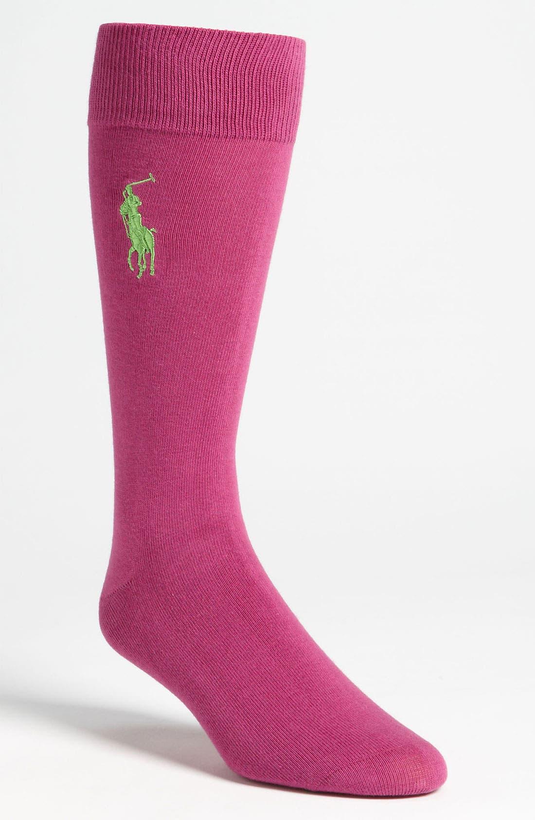 Alternate Image 1 Selected - Polo Ralph Lauren Socks