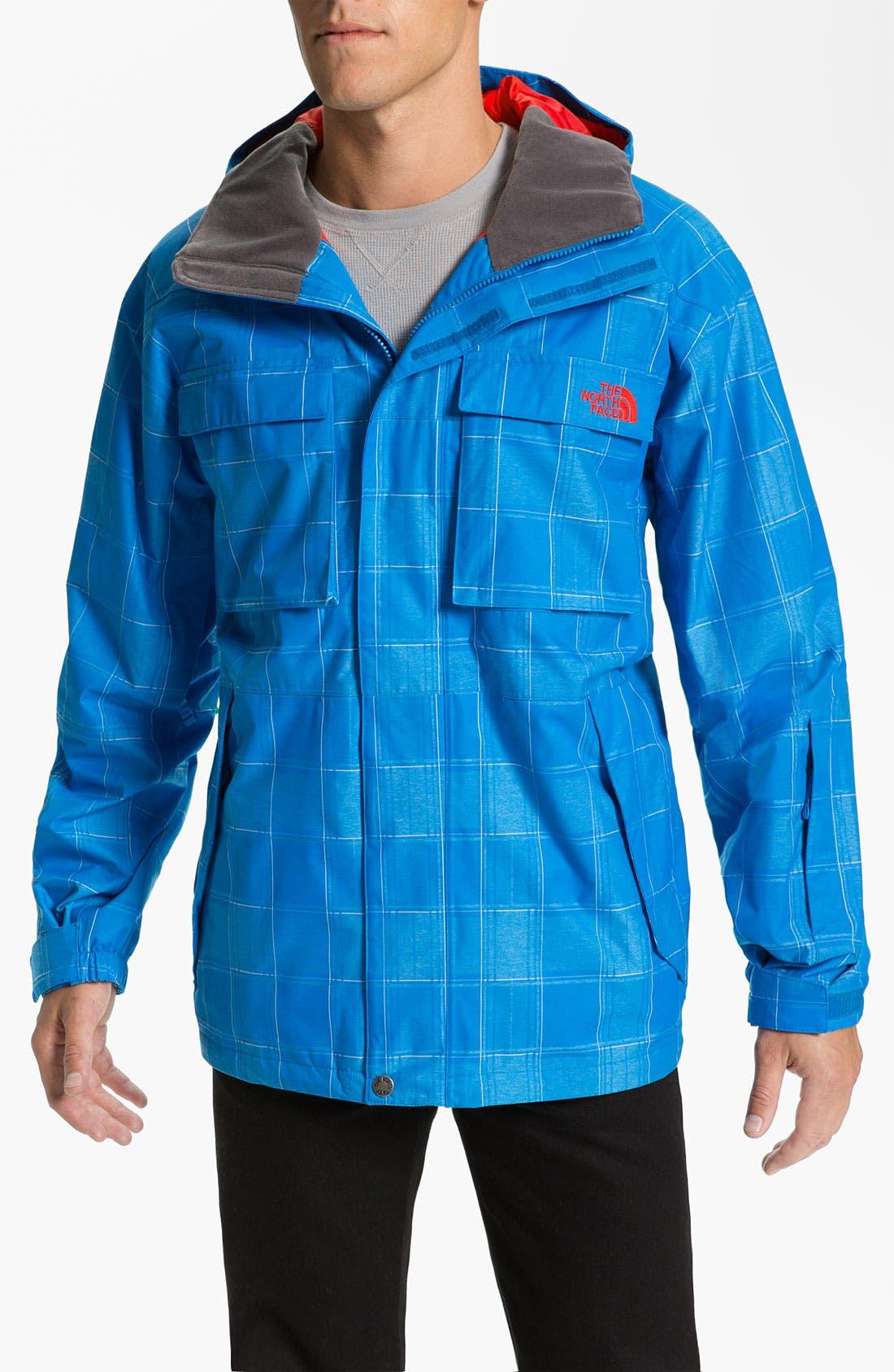 Alternate Image 1 Selected - The North Face 'Alki' Waterproof Hooded Snowsport Jacket