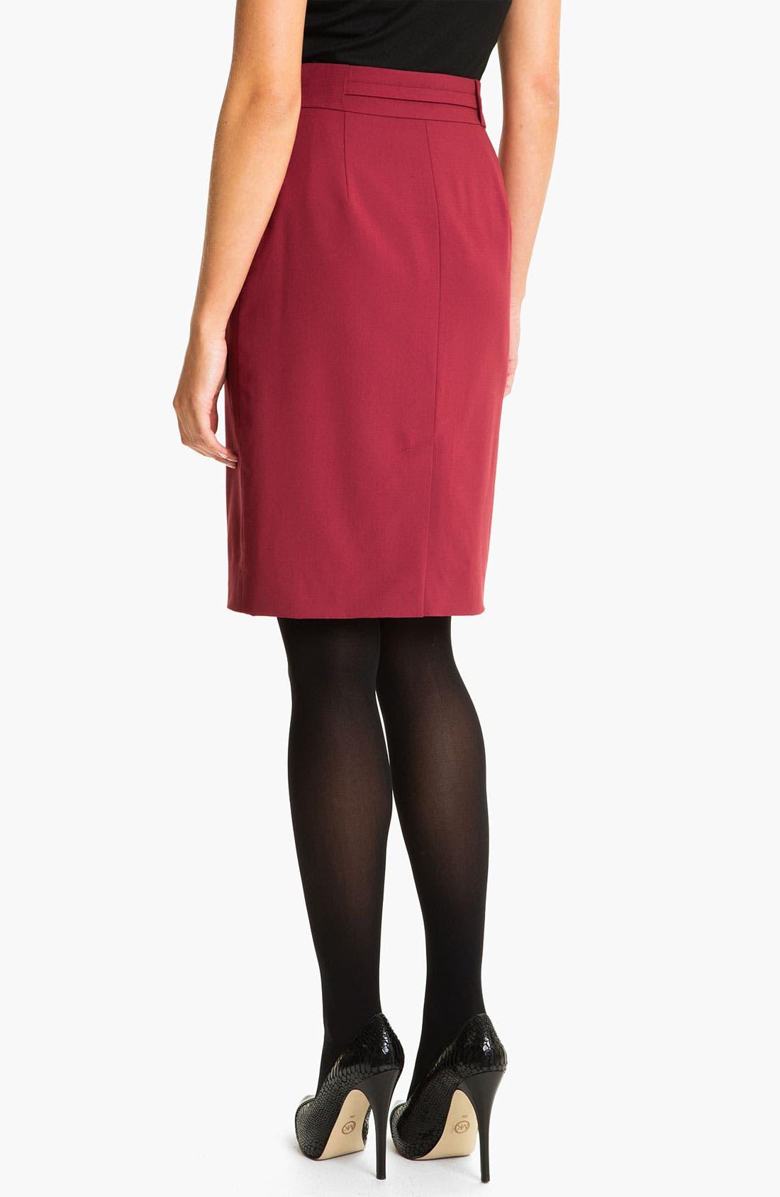 Alternate Image 2  - Classiques Entier® 'Piper Weave' Skirt