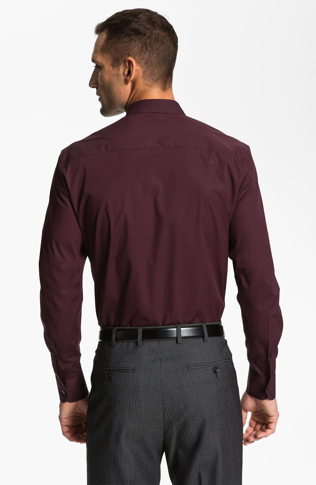 Alternate Image 2  - Z Zegna Trim Fit Dress Shirt