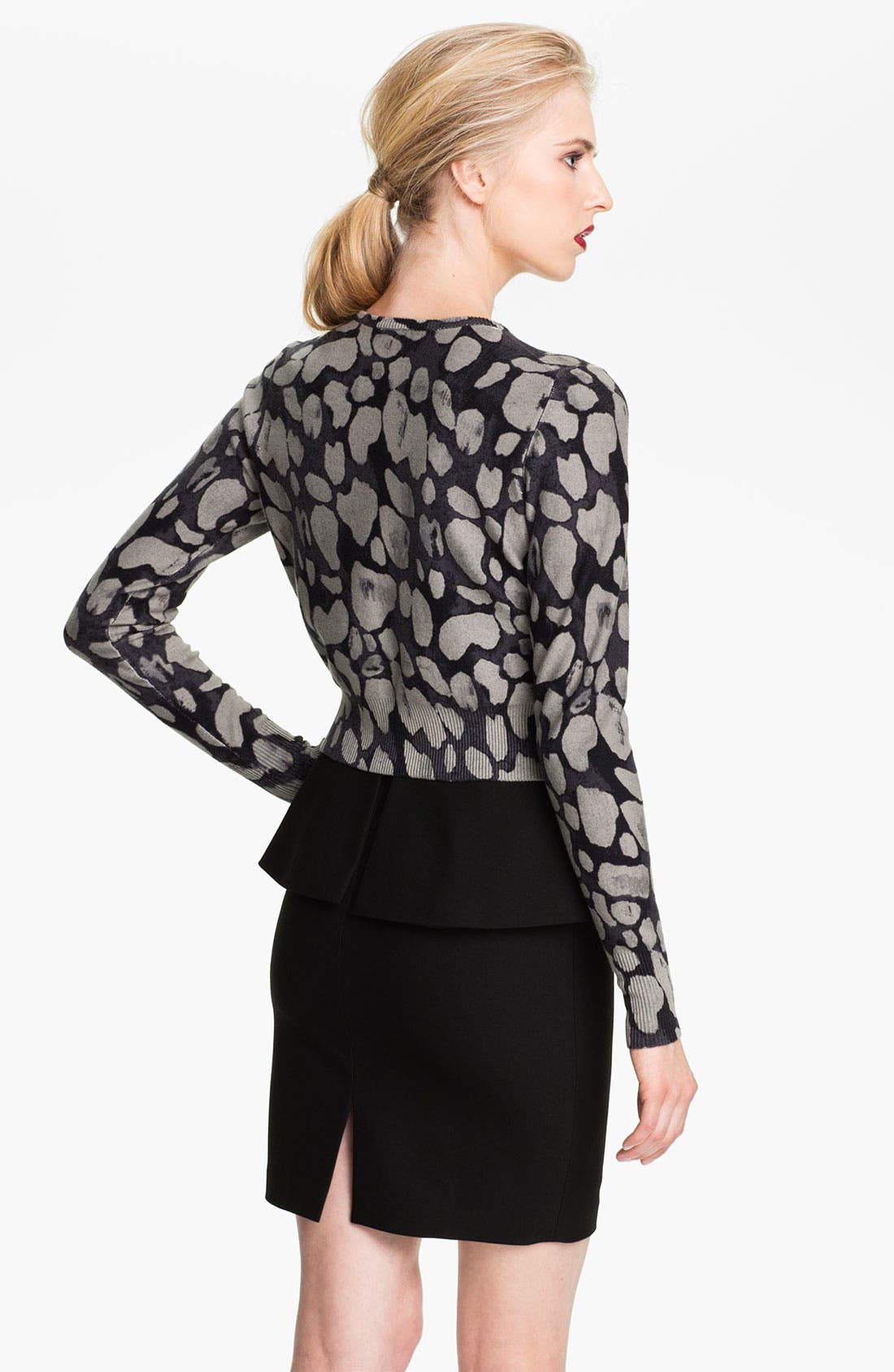 Alternate Image 2  - Tracy Reese Print Cardigan (Nordstrom Exclusive)