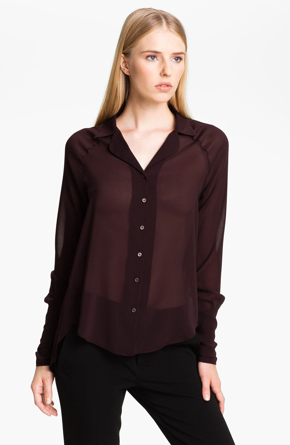 Main Image - Theyskens' Theory 'Bilke Franky' Woven Shirt