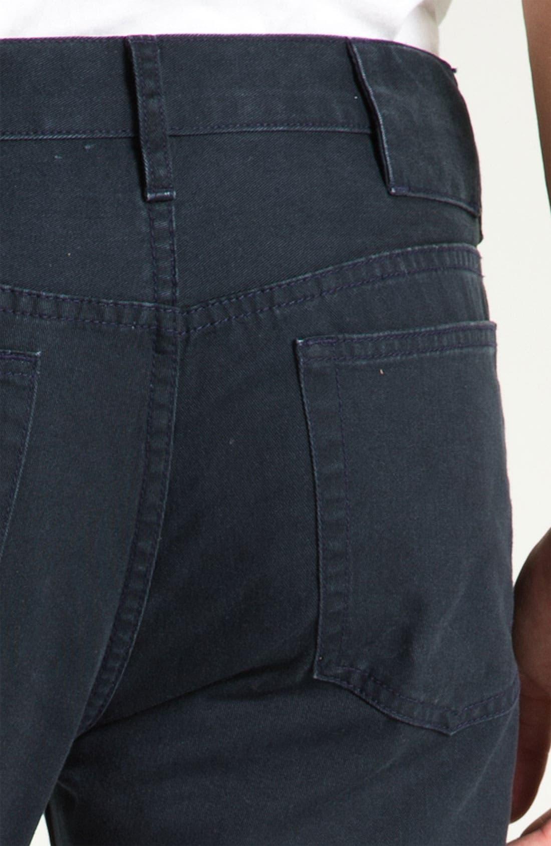 Alternate Image 3  - MARC BY MARC JACOBS Slim Straight Leg Jeans (Darkest Teal)