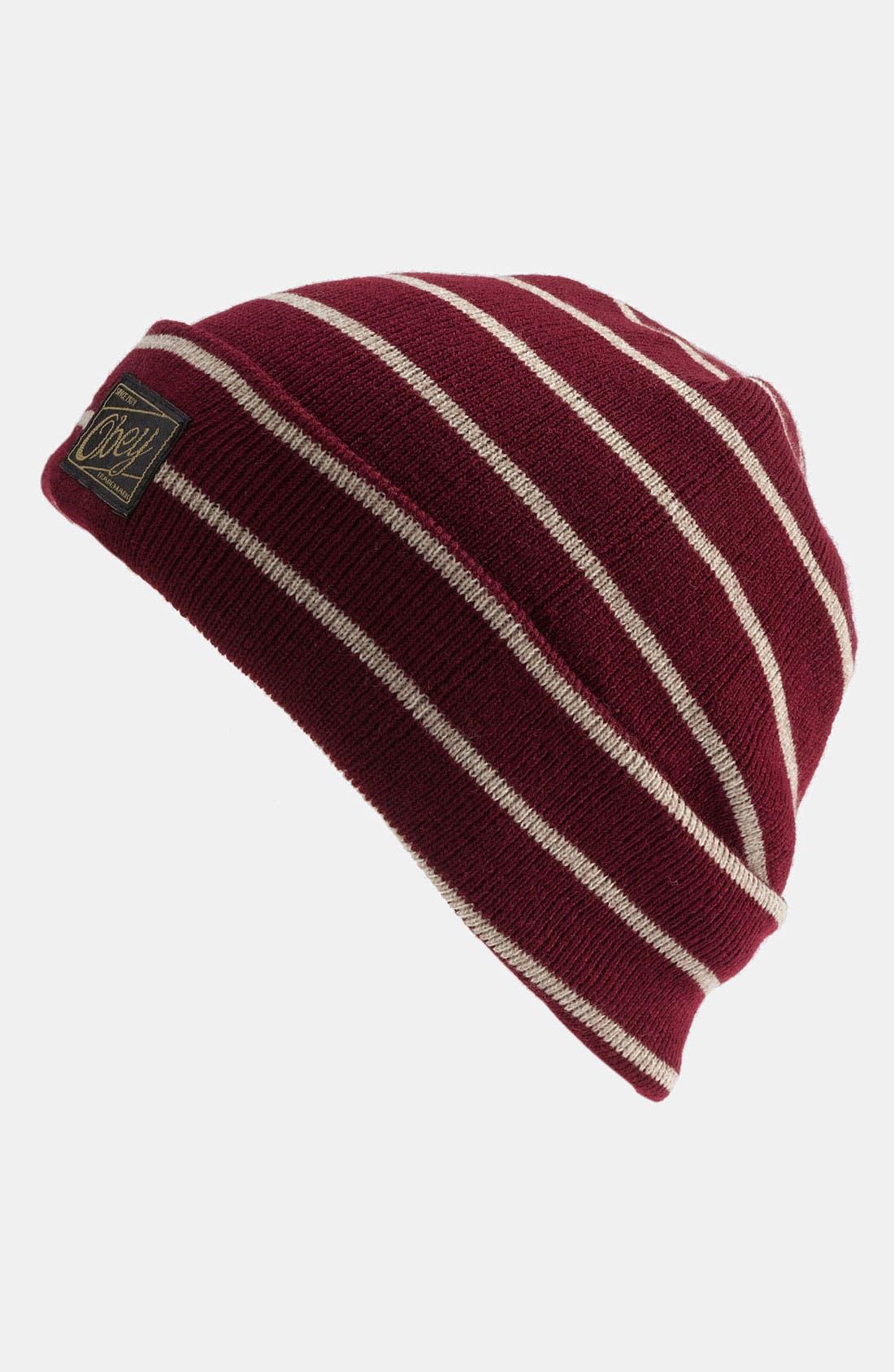 Main Image - Obey 'Jobber' Knit Cap