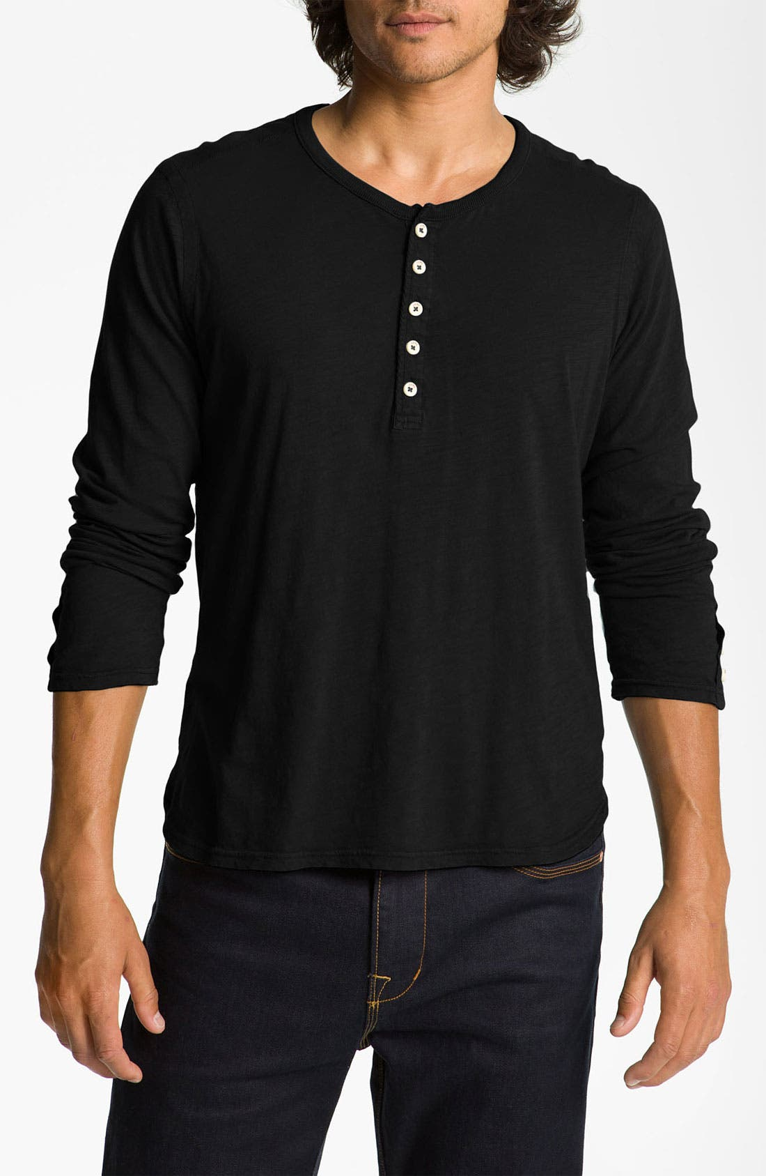 Alternate Image 1 Selected - Howe '1977' Slub Cotton Henley