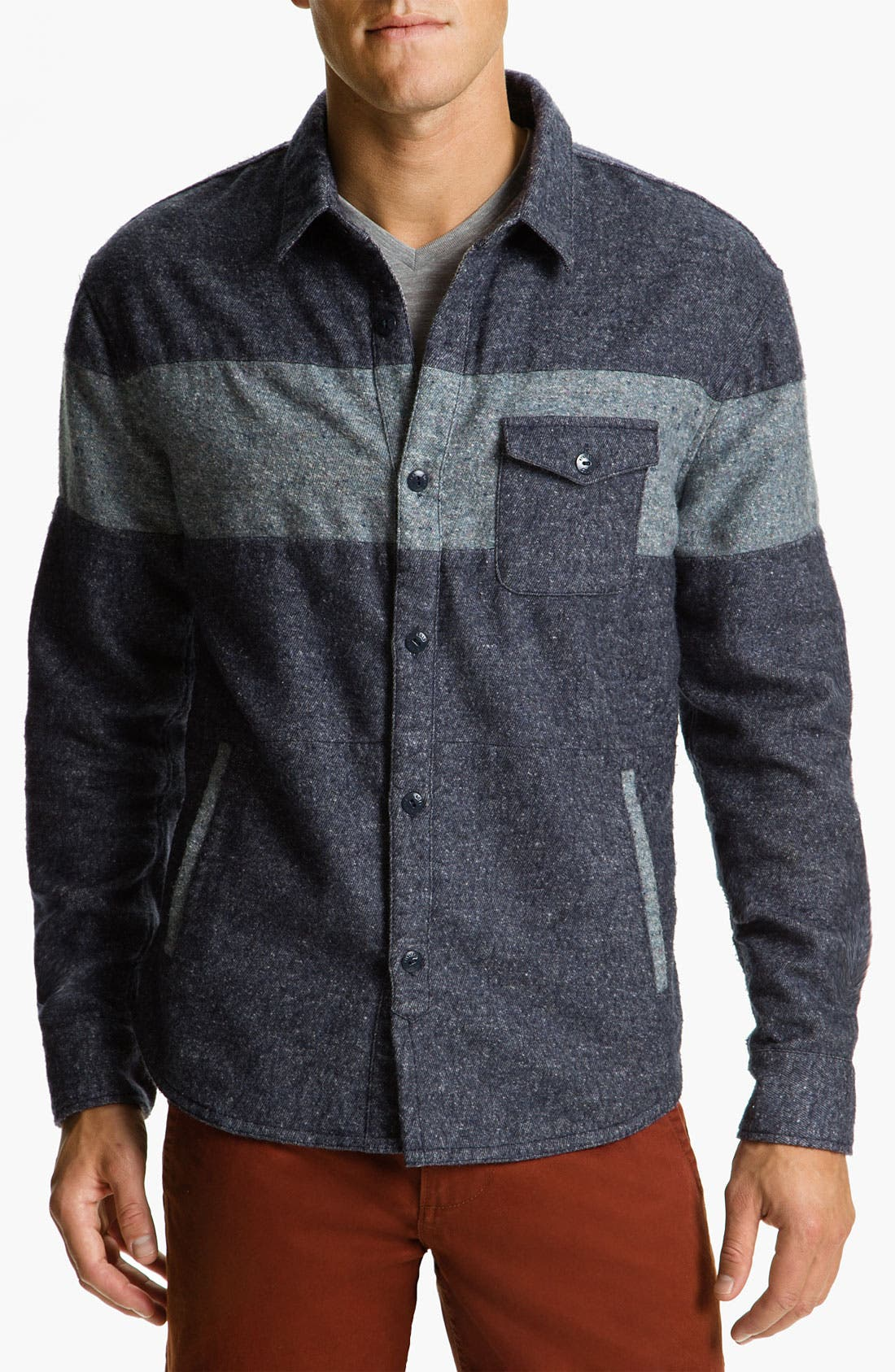 Alternate Image 1 Selected - Riviera Club 'CPO' Woven Shirt Jacket