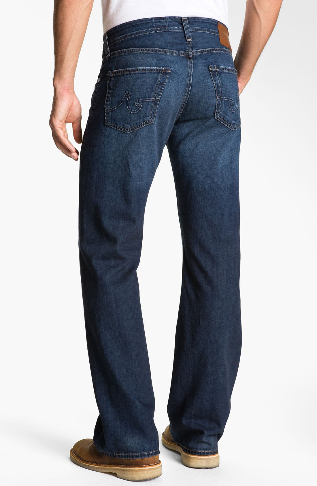 Alternate Image 2  - AG 'Hero' Relaxed Fit Jeans (Barrow)
