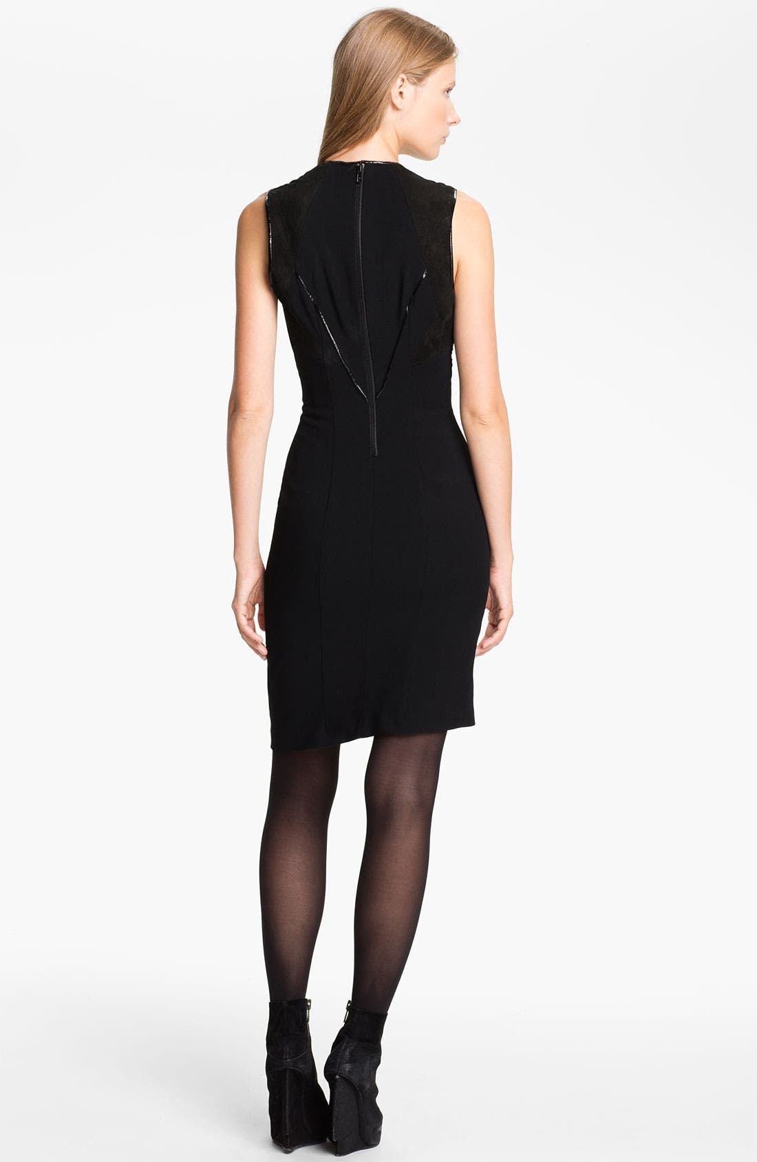Alternate Image 2  - Helmut Lang Seam Detail Dress