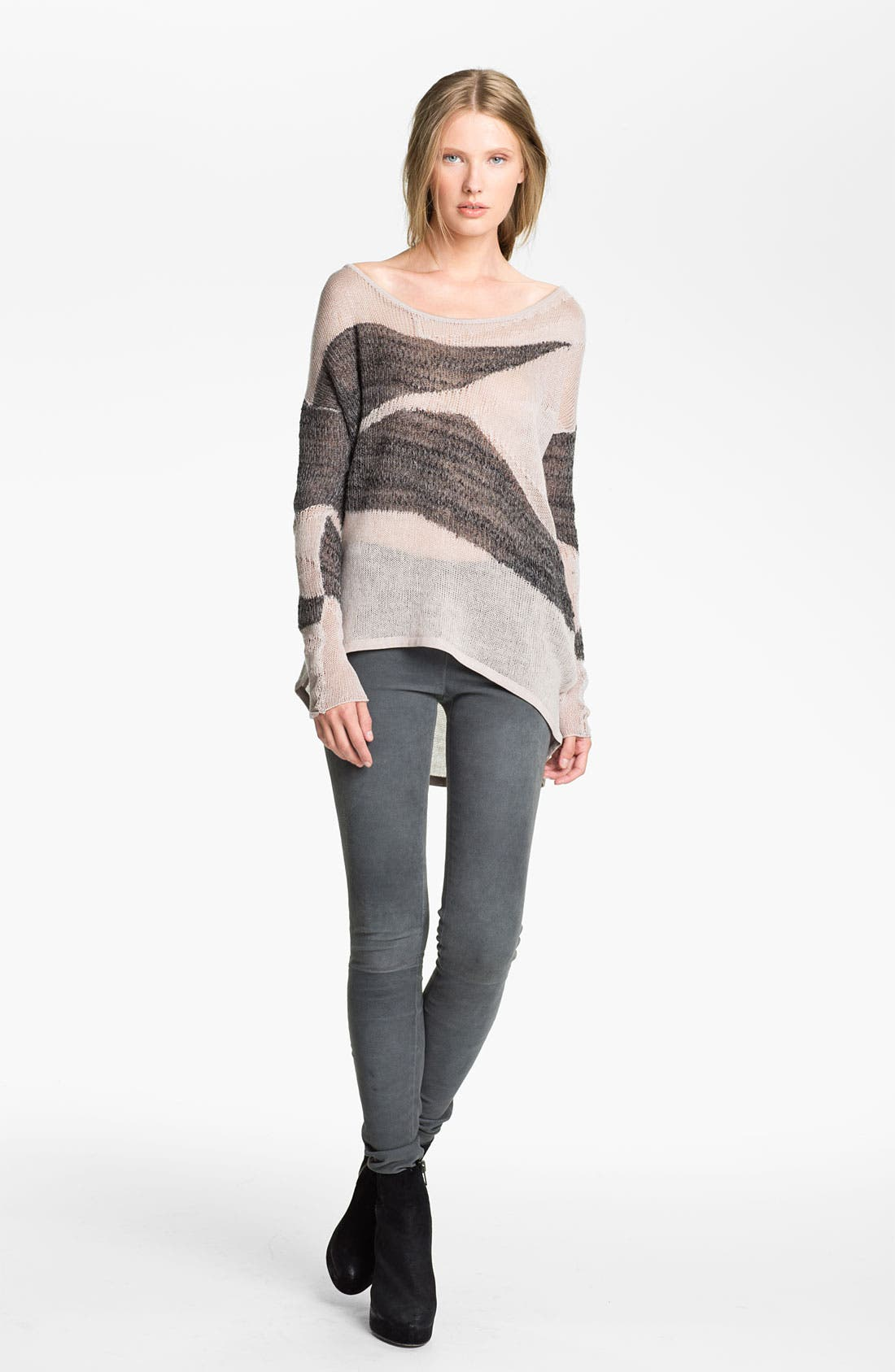 Main Image - Helmut Lang 'Merging Texture' Sweater