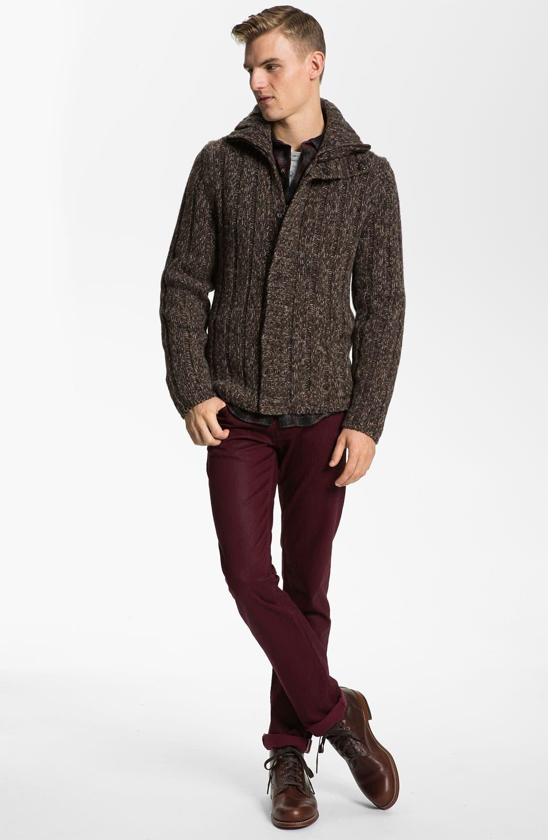 Alternate Image 4  - BOSS Orange Wool Sweater