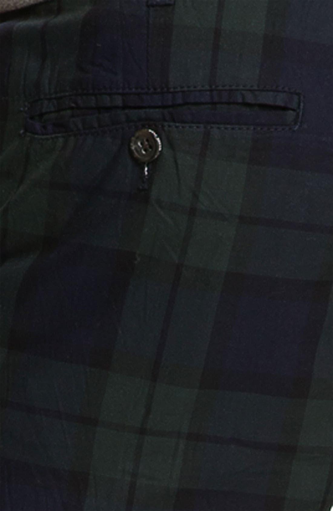 Alternate Image 3  - Just A Cheap Shirt Tartan Plaid Slim Straight Leg Chinos