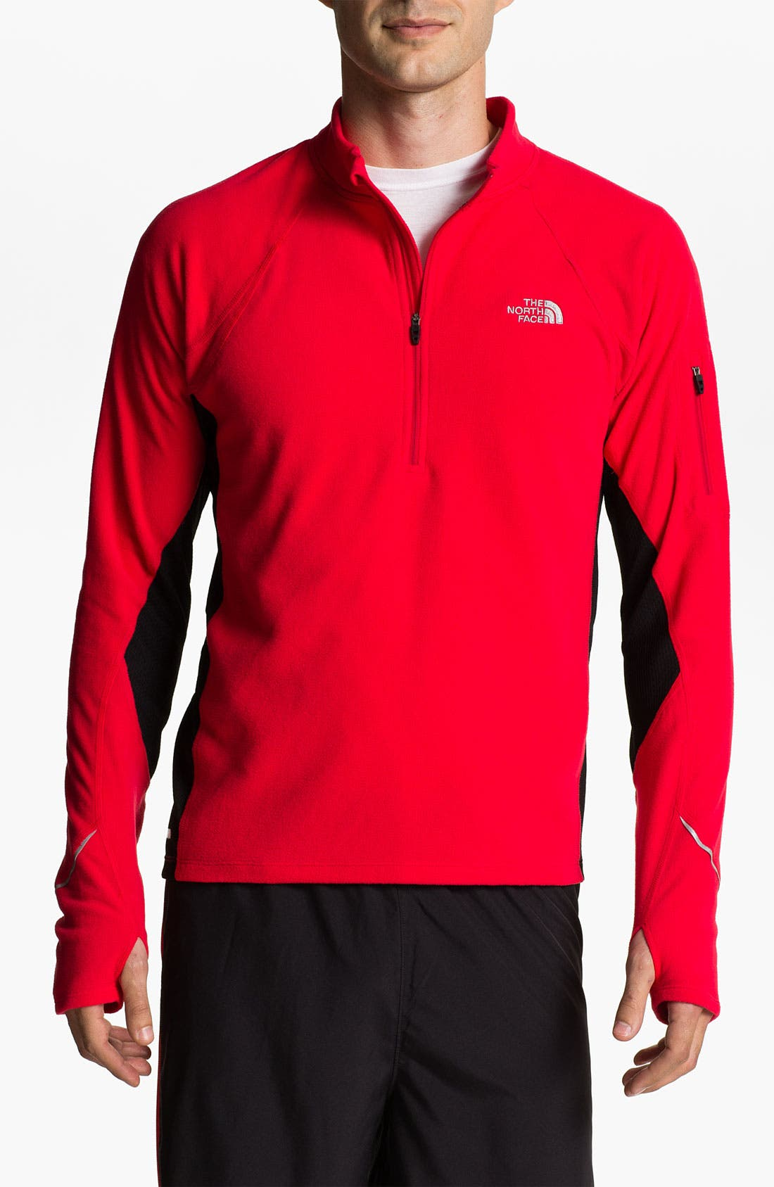 Alternate Image 1 Selected - The North Face 'TKA 80 Hybrid' Half Zip Fleece Pullover