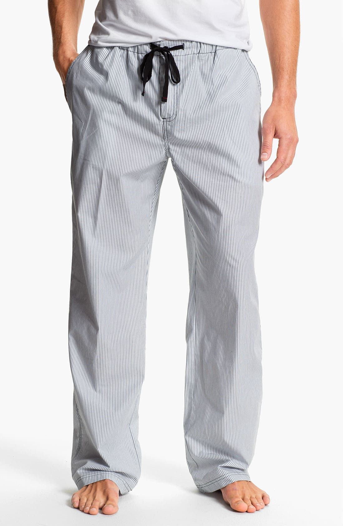 Alternate Image 1 Selected - Daniel Buchler Woven Cotton Lounge Pants