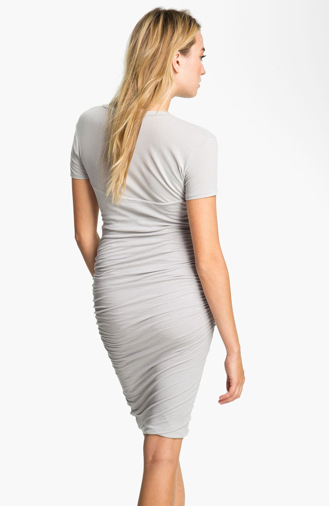 Alternate Image 2  - James Perse Ruched T-Shirt Dress