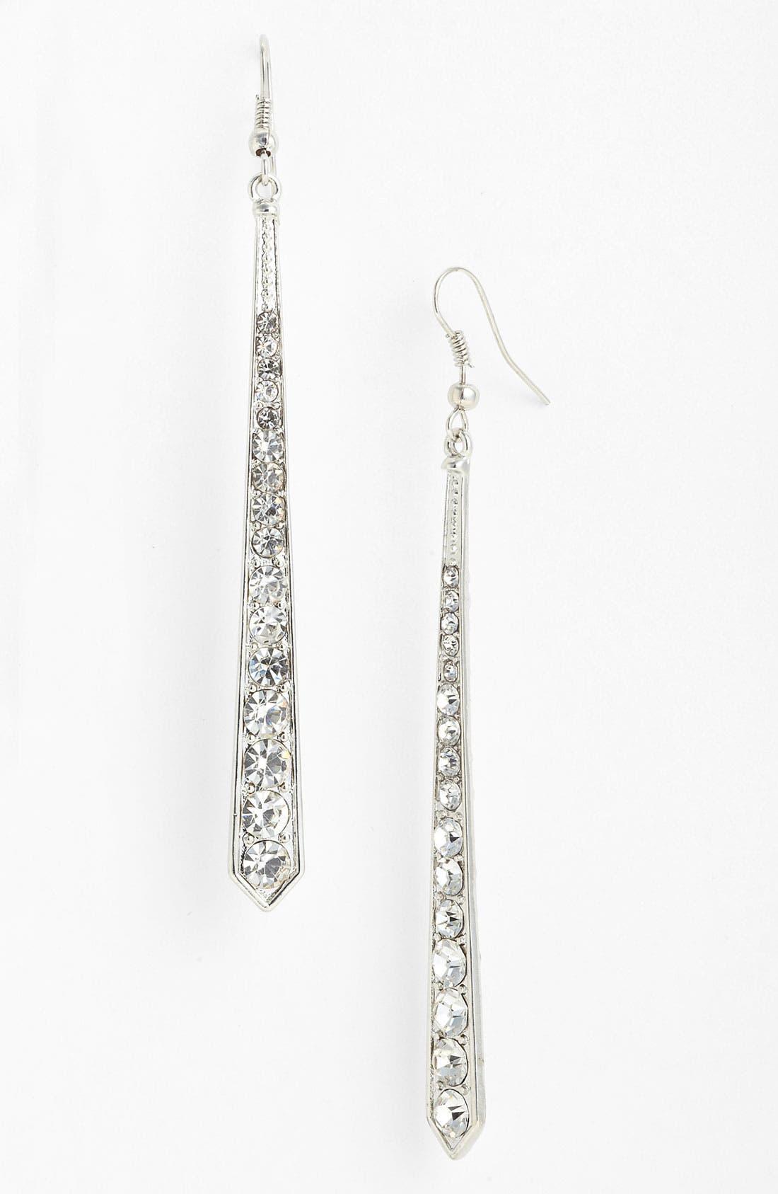 Main Image - Stephan & Co. Rhinestone Drop Earrings