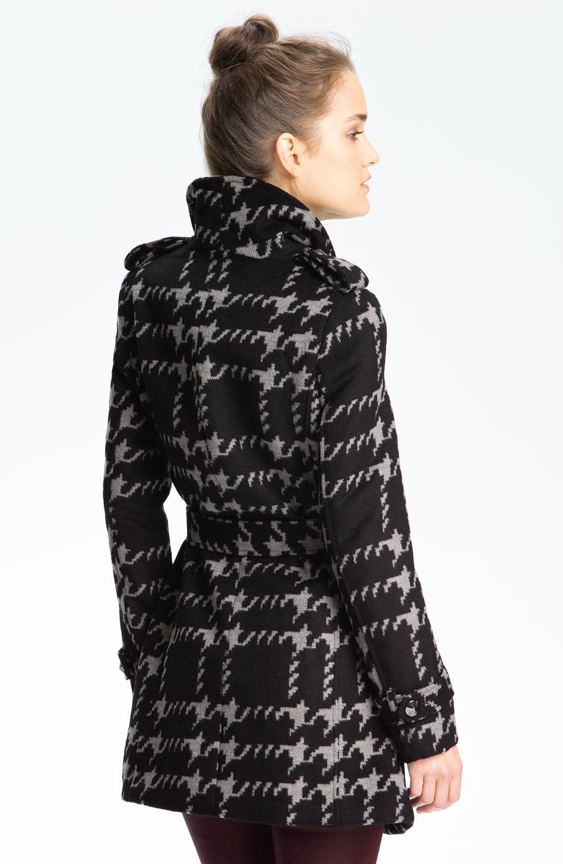 Alternate Image 2  - Sam Edelman Wing Collar Wrap Jacket