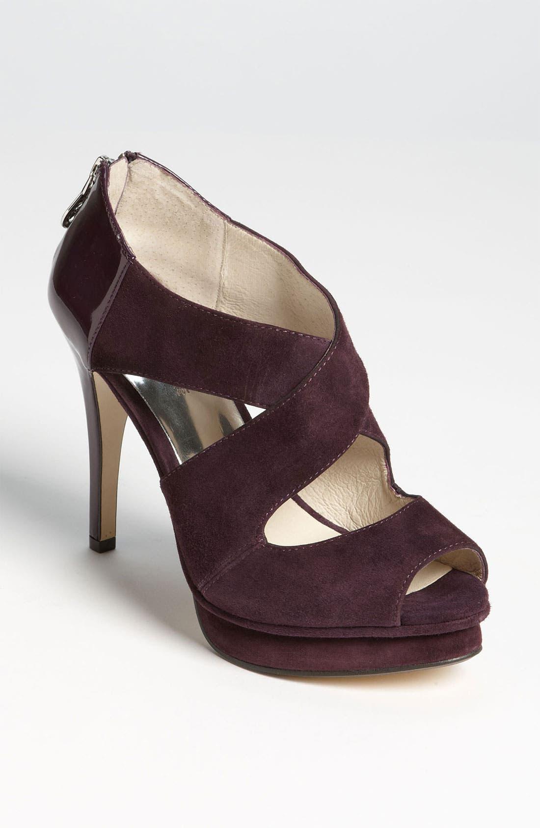Alternate Image 1 Selected - MICHAEL Michael Kors 'Elena' Cross Strap Sandal