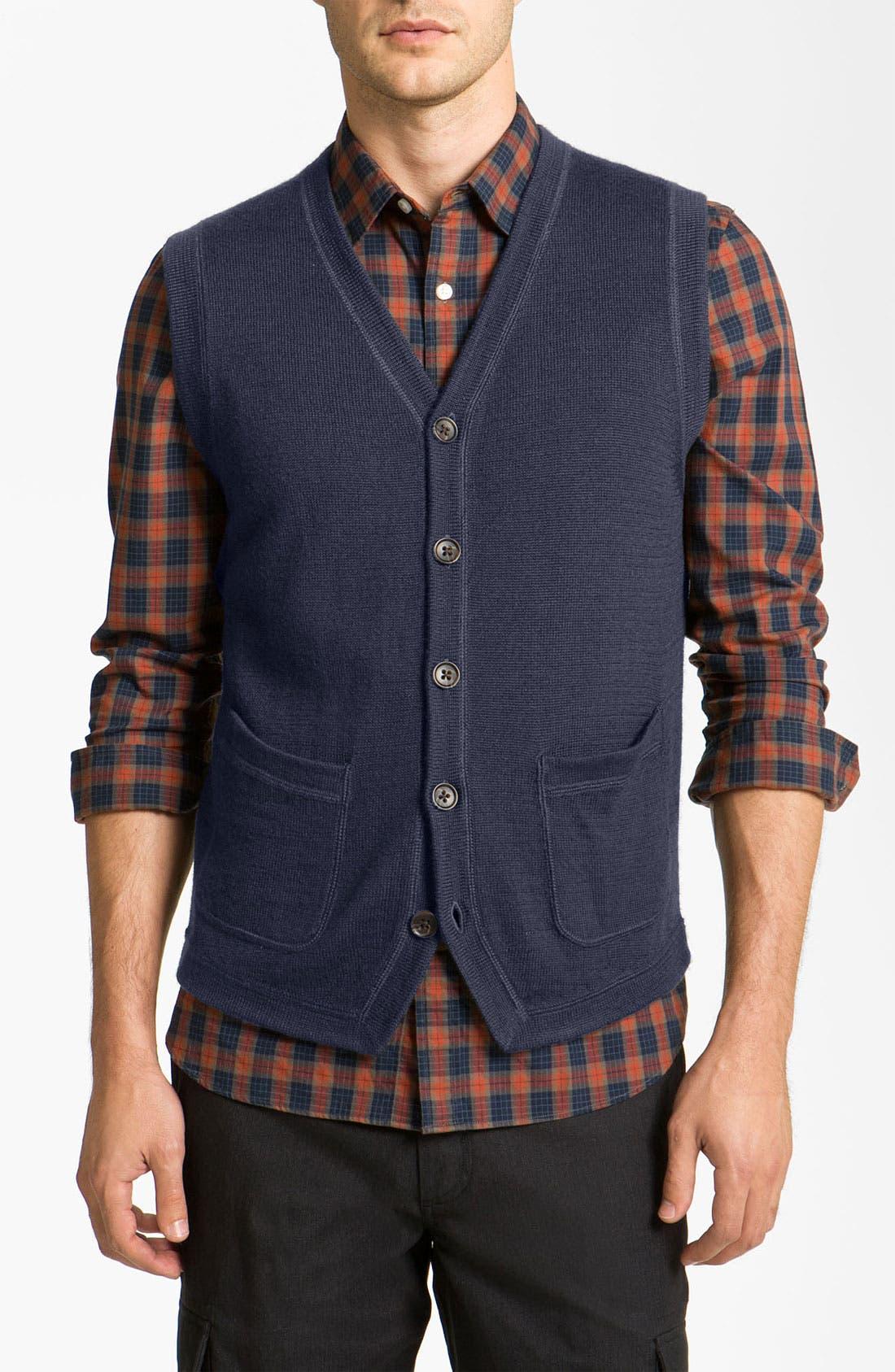 Alternate Image 1 Selected - Wallin & Bros. 'Milton' Trim Fit Vest