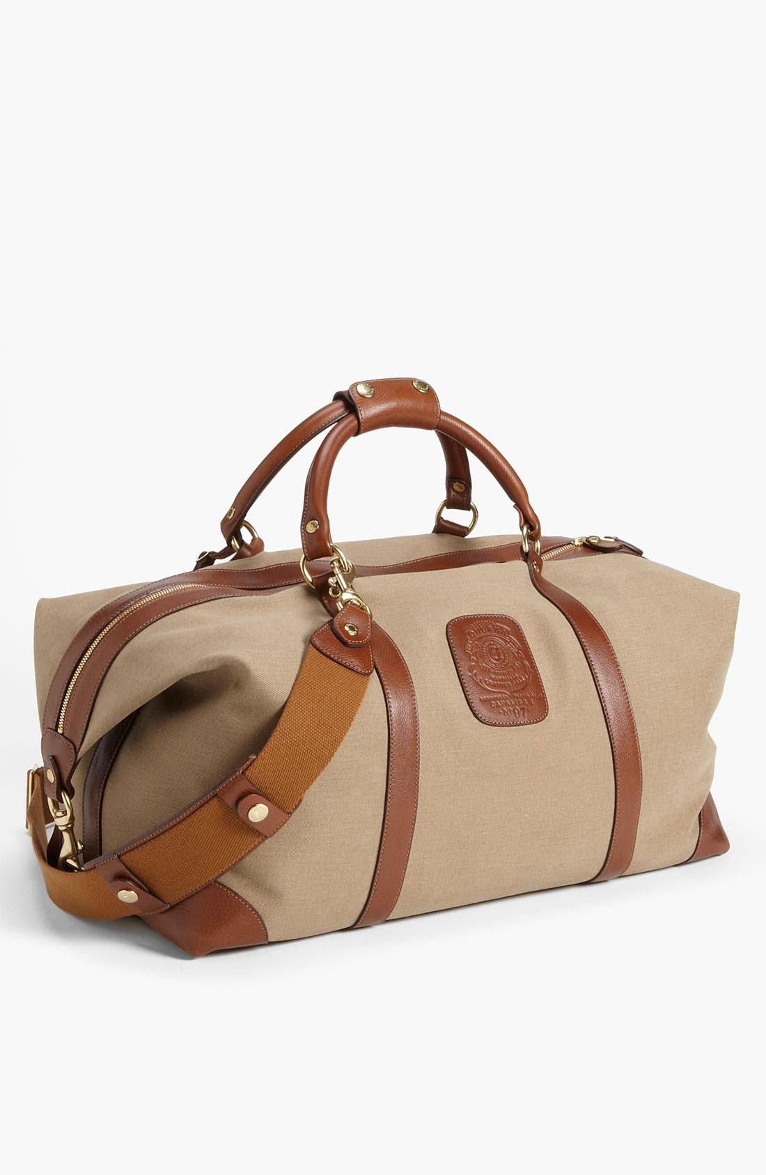 Alternate Image 1 Selected - Ghurka 'Cavalier II' Twill Duffel Bag