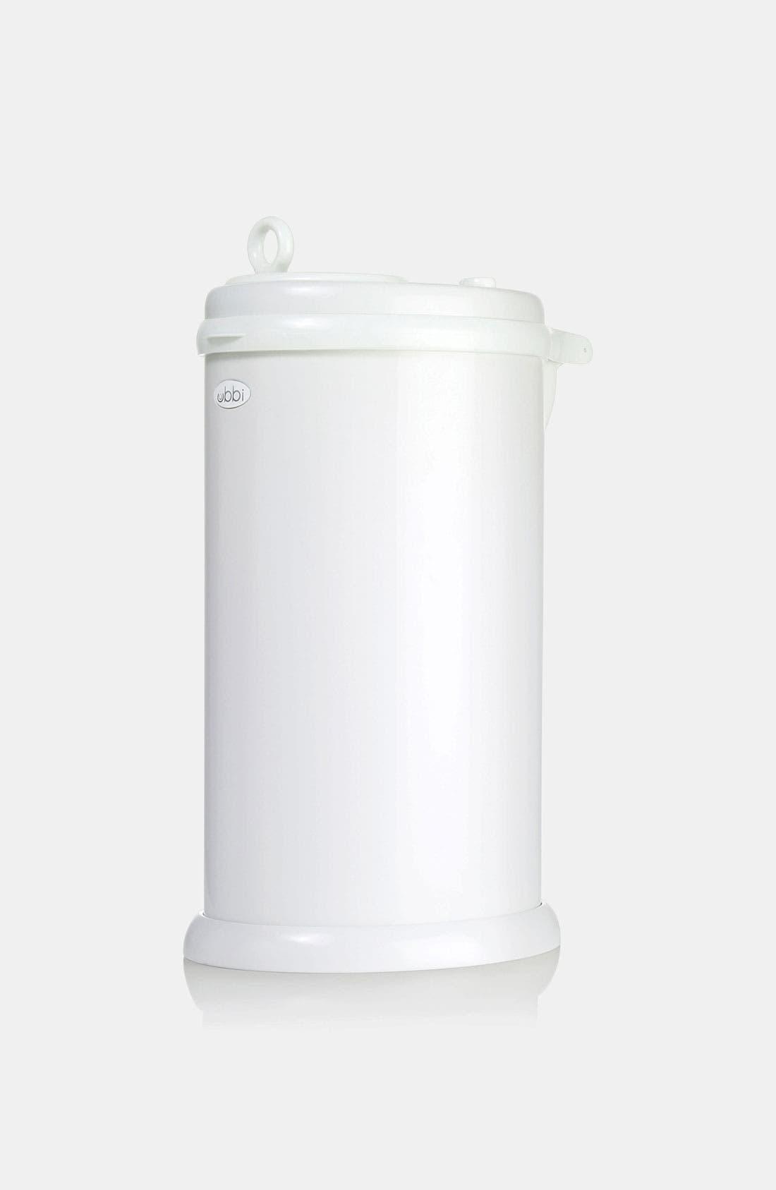 Diaper Pail,                         Main,                         color, White