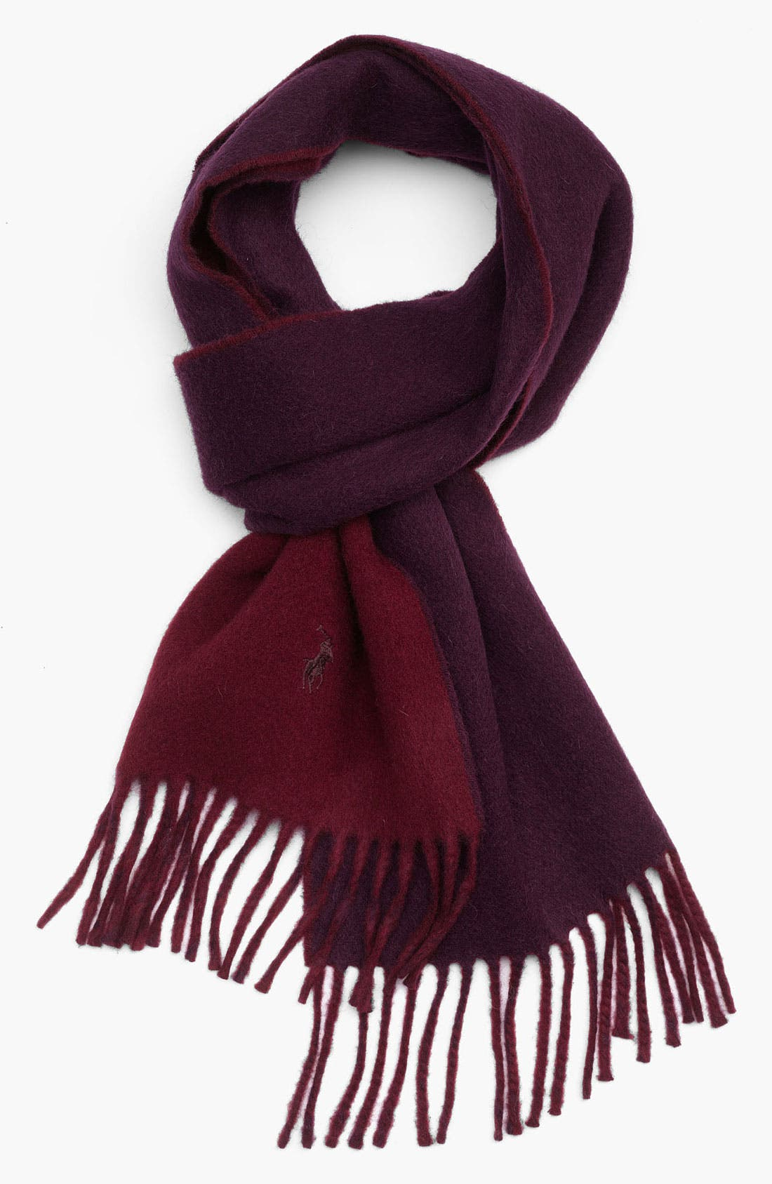 Alternate Image 1 Selected - Polo Ralph Lauren 'Classic' Reversible Scarf