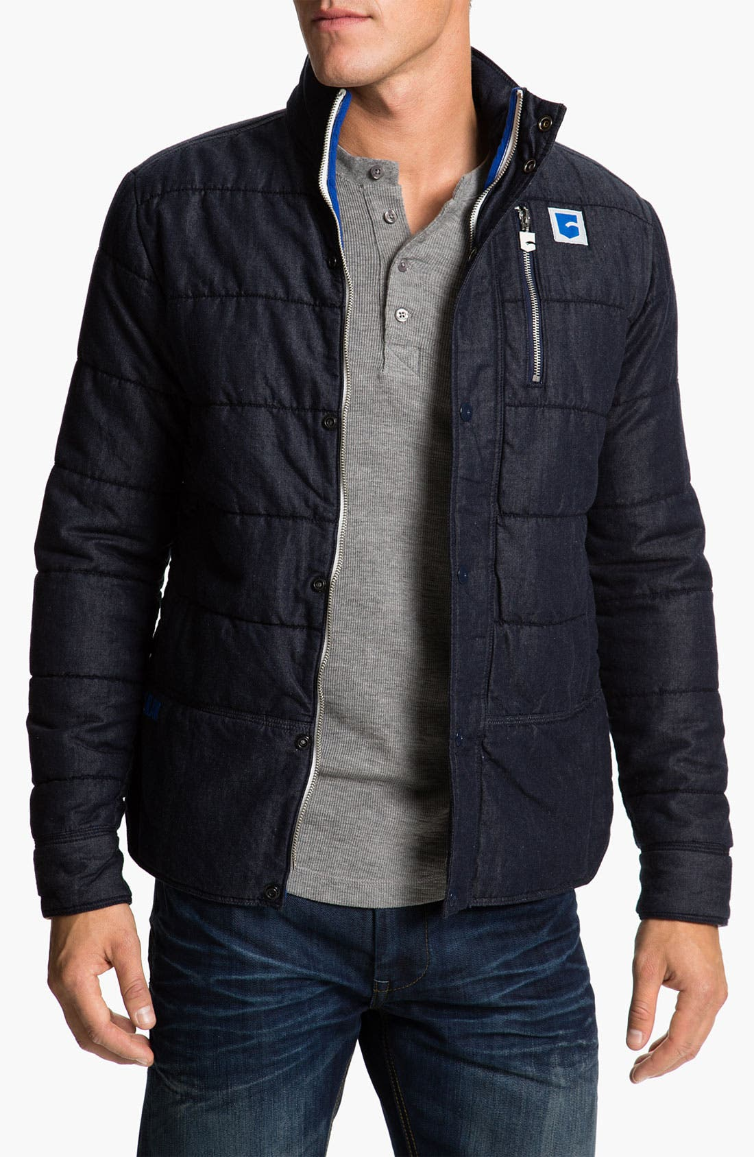 Alternate Image 1 Selected - G-Star Raw 'Park' Quilted Jacket