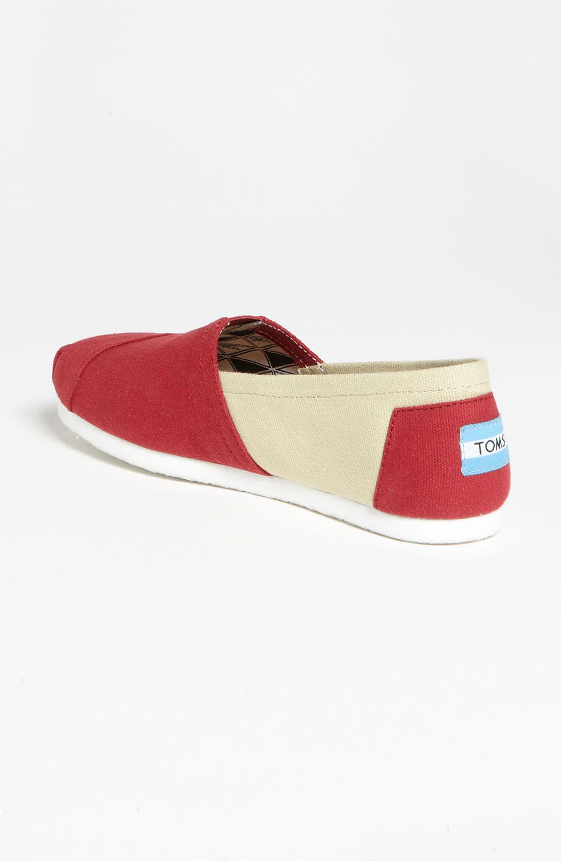 Alternate Image 2  - TOMS 'Campus Classics - Florida State' Slip-On (Women)