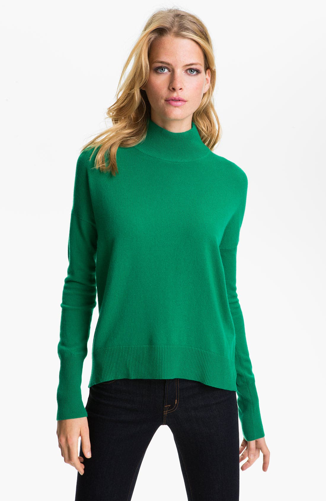 Alternate Image 1 Selected - Theory 'Sutton B.' Cashmere Sweater (Online Exclusive)