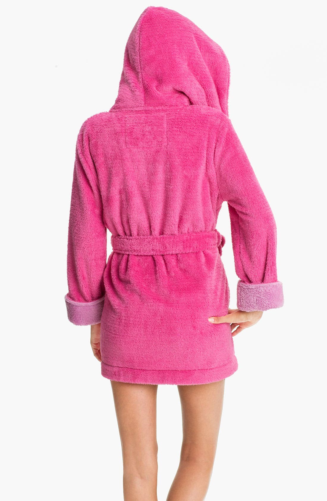 Alternate Image 2  - Steve Madden 'Pattern Play' Fluffy Lurex® Robe