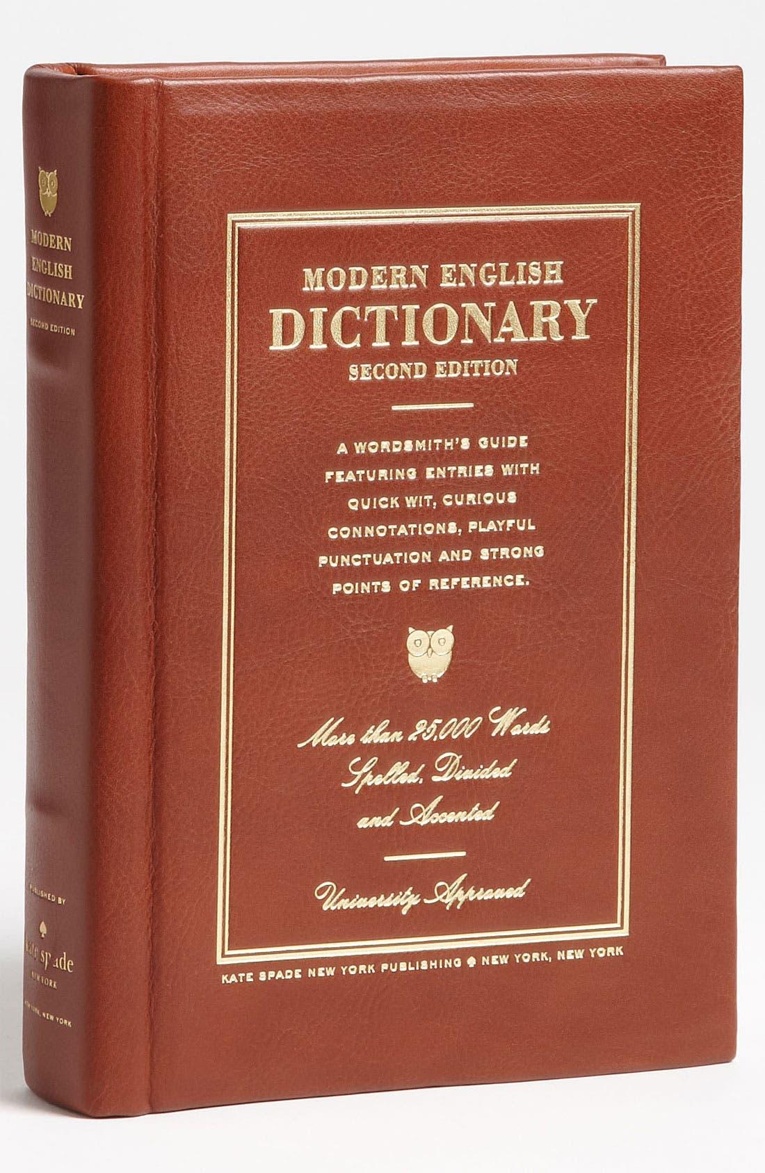 Main Image - kate spade new york 'wordsmith dictionary' clutch
