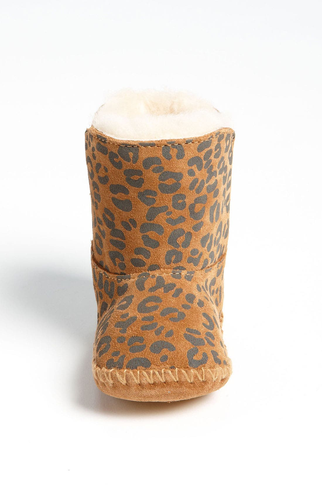 Alternate Image 3  - UGG® 'Cassie' Leopard Print Boot (Baby & Walker)