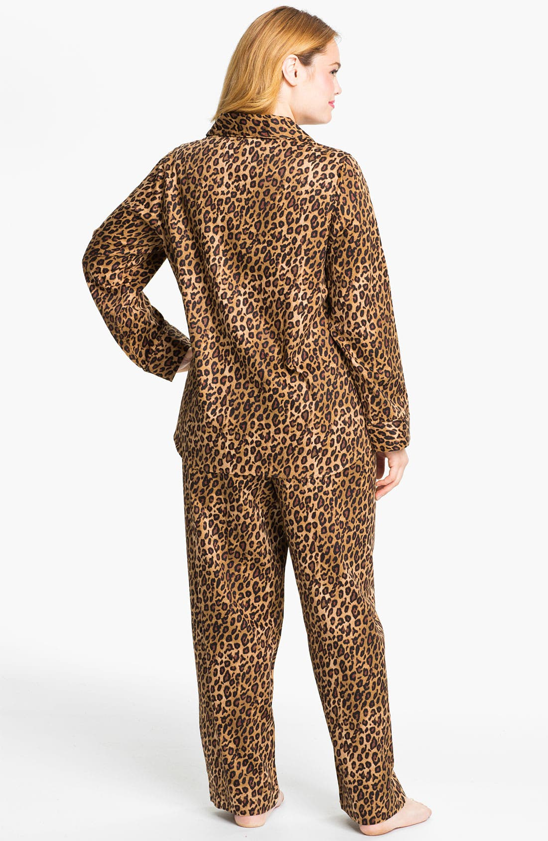 Alternate Image 2  - Lauren Ralph Lauren Sleepwear Pattern Pajamas