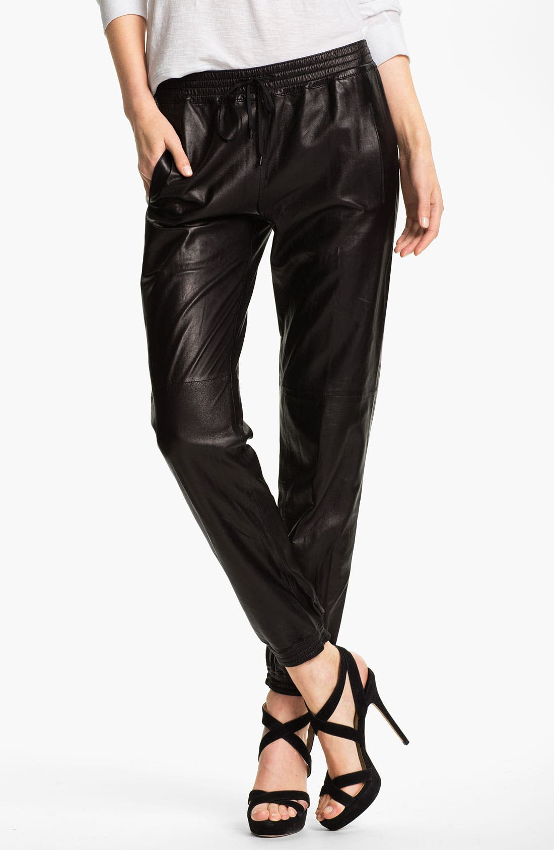 Alternate Image 1 Selected - Vince Leather Pants