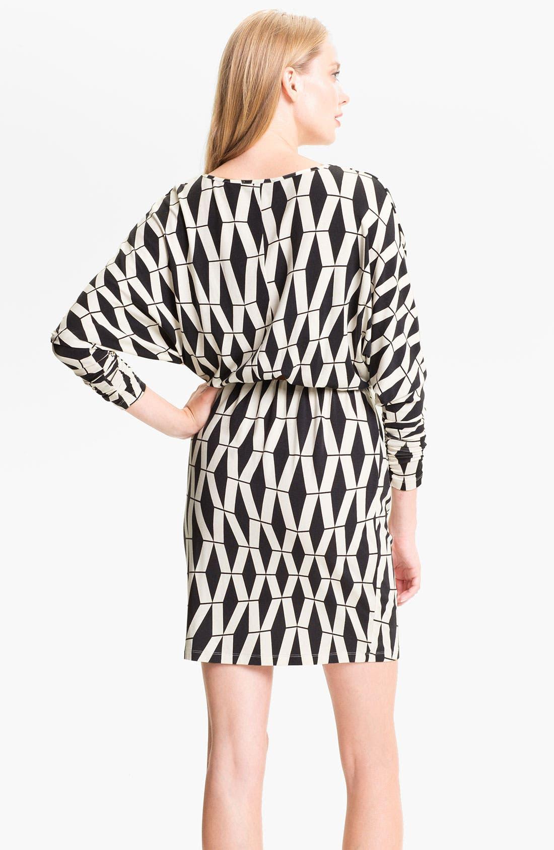 Alternate Image 2  - Tart 'Liv' Graphic Print Dolman Sleeve Dress