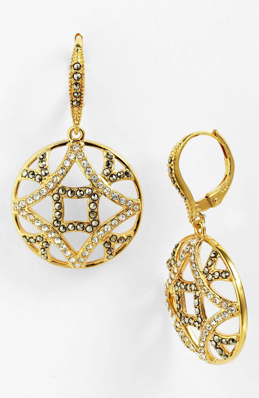 Main Image - Judith Jack 'Matrix' Drop Earrings