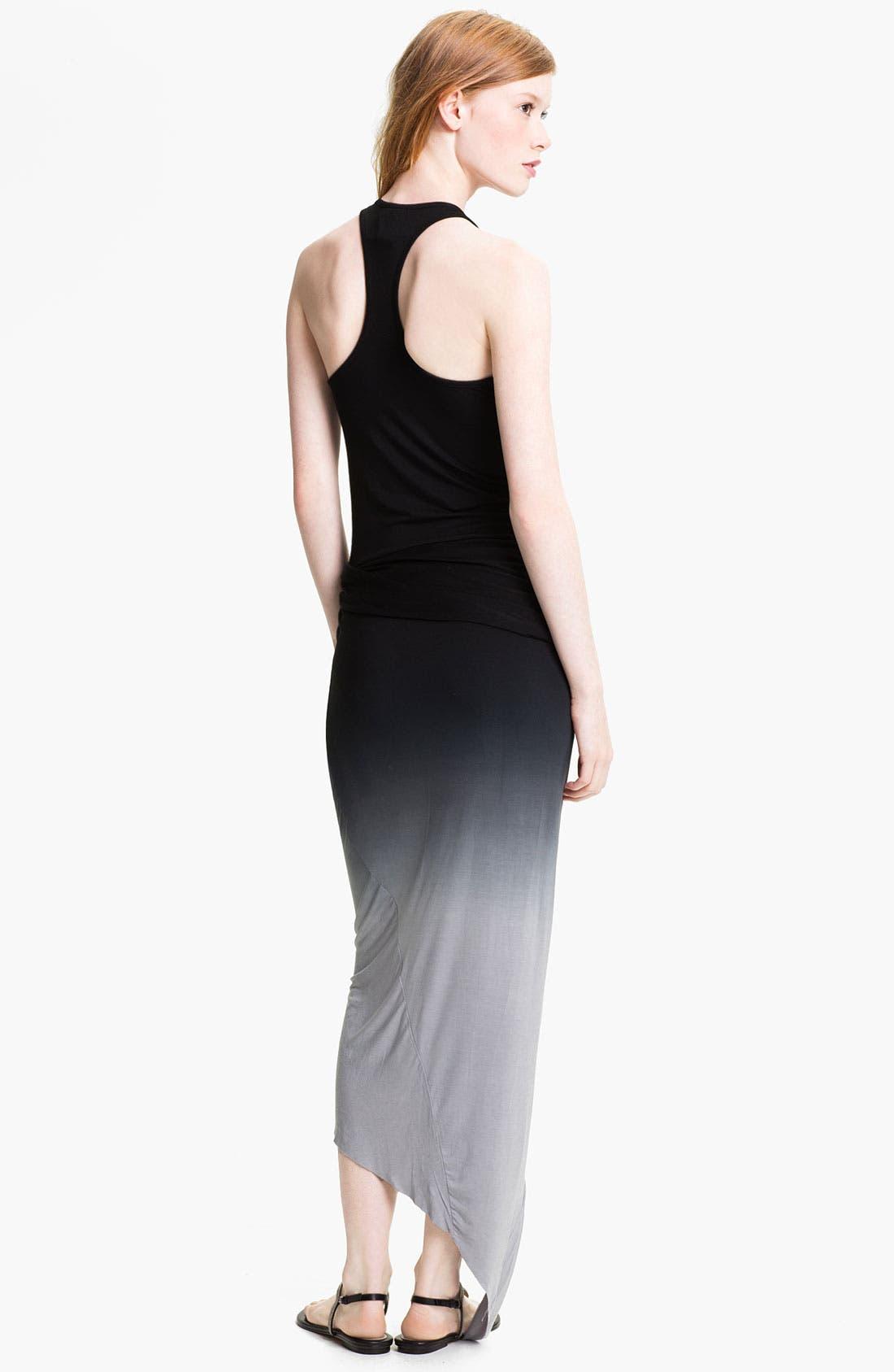 Alternate Image 2  - Young, Fabulous & Broke 'Sassy' Faux Wrap Maxi Dress