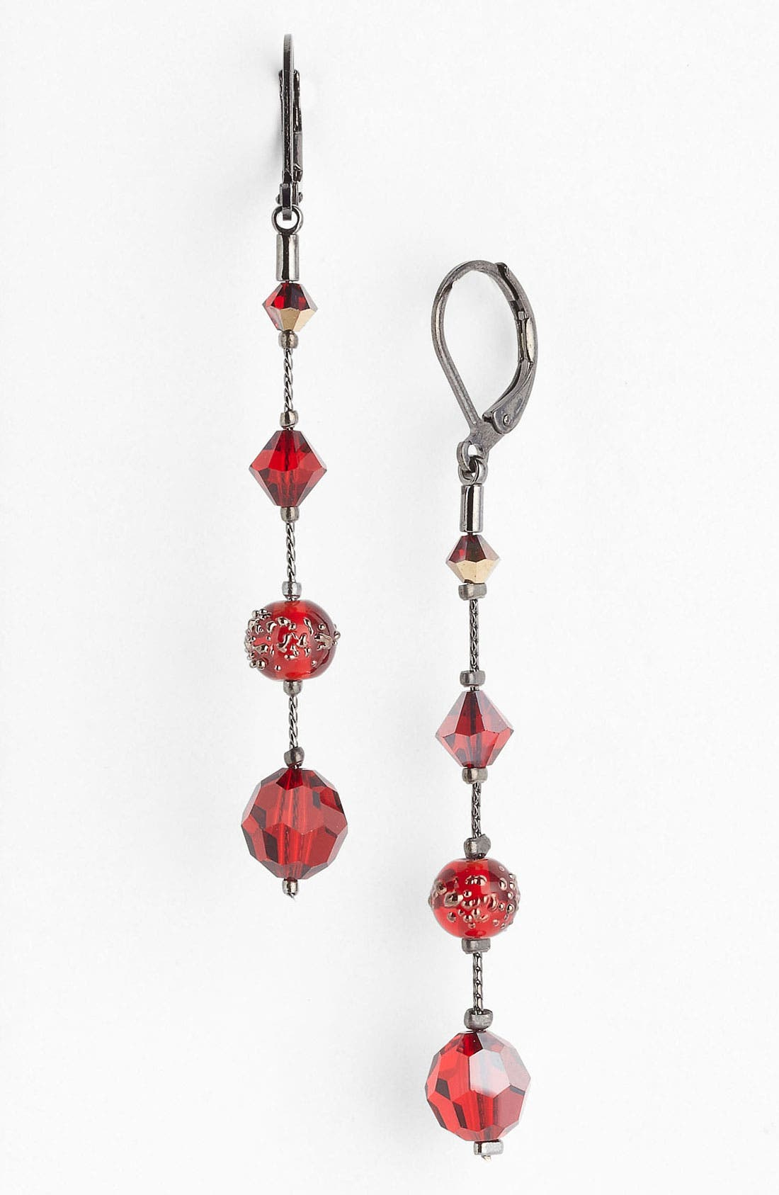 Main Image - Dabby Reid 'Natalie' Long Crystal Earrings